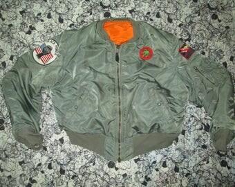 Vintage Fligth jacket bomber usaf
