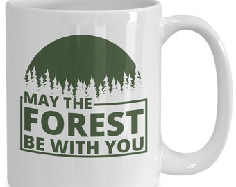 May The Forest Be With You | Climate Change Coffee Mug