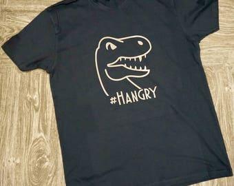 Hangry Dino/TRex Mens Shirt