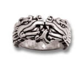Aztec Dragon Ring