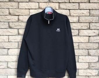 vintage!!! KAEPA sweatshirt embroidered small logo.. vintage sweatshirt ... size L
