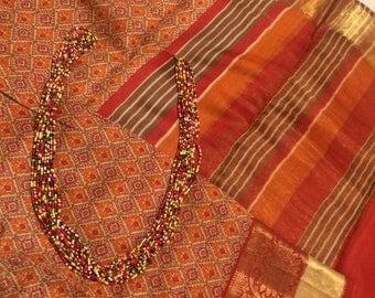 Beautiful Tussar Silk Saree