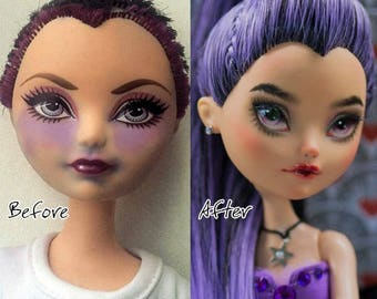 OOAK Ever After High repaint and restored doll Raven Queen