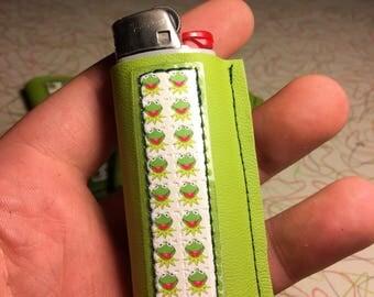 Kermit lighter case
