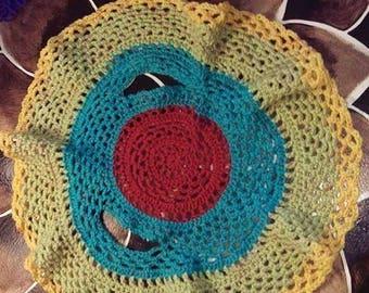 Rainbow Color Toddler Circle Vest