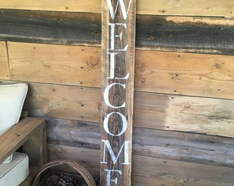 Barn wood signs - personalized