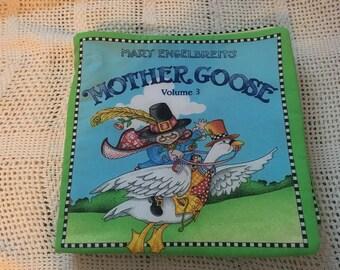 Mary Engelbreits Moth Goose Cloth Child's Book