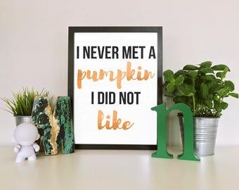 Printable Halloween Quote Art // Printable Halloween Quote, Holiday Quote,  Printable Quote,