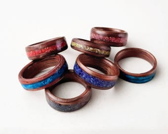 Bentwood ring for men/woman/childeren gift