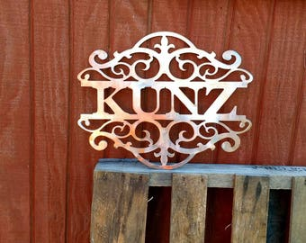 PERSONALIZED - Family name sign