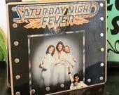 Saturday Night Fever Record Purse - Broken Recoxrds Designs - Record Handbag - Vinyl Purse - Recycled Records - Unique Gifts - Handmade Bags