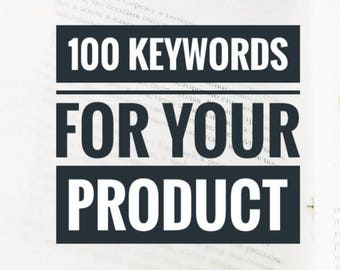 100 keywords /Etsy Title and Tags / Etsy SEO tips / Etsy Keyword Research / Etsy Title Writing / Shop Improvemet for Etsy Seller / ETSY Help