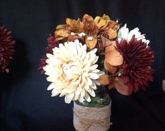 Harvest floral arrangements