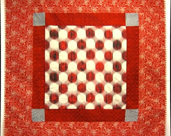 Eye-dazzler Japanese Silk Quilt