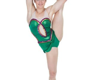 Women's Tank Style Figure Skating Competition Dress Figure Gymnastics Dress - Many Colors