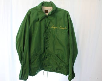 "Vintage 90s Swingster ""Super Coach"" Coach Jacket - L"