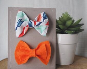 Bow tie set