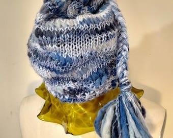 Multi-toned Blue Hat