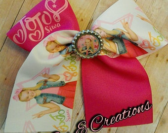 Star JoJo Siwa Cheer Bow