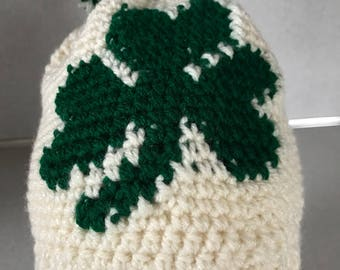 St. Patrick's Day winter hat