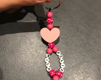 Keychain personalized. Name or other.