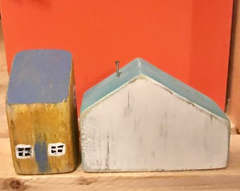 Cute, Small Wooden Houses