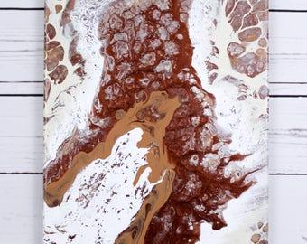 Fluid Art: FEUILLEMORT