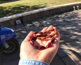 RedB Bracelet-Bit Sardinia collection, legume bracelet