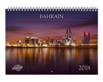 Bahrain 2018 Wall Calendar