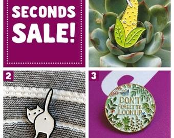 Enamel Pins - Seconds sale!