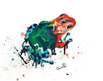 Frog Print