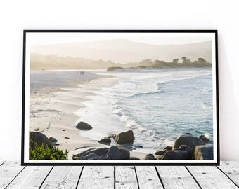 Wall Print Tasmania Beach Binalong Bay