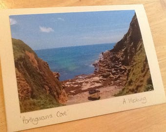 Porthgwarra Cove, Cornwall.