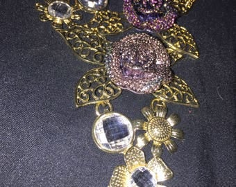 Rose Necklace - Women's Jewlery