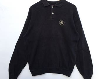 Chaps Ralph Lauren Sweatshirt small logo black colour usa polo bear Polo P-wing Polo Stadium Rl-92
