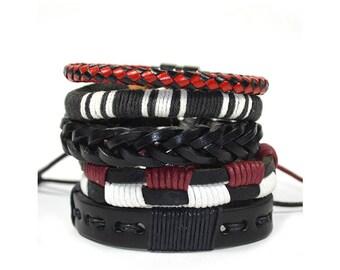 5 Pack Stocked Bracelet Set
