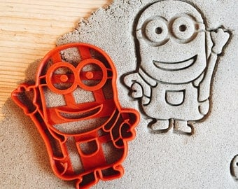 Waving minion despicable me Cookie Cutter