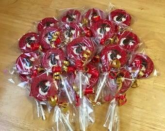 Marine Chocolate Lollipops