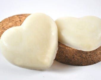 Heart Shaped Lavender Lotion Bar