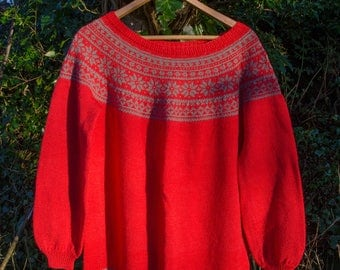 Strikket genser / Knitted sweater