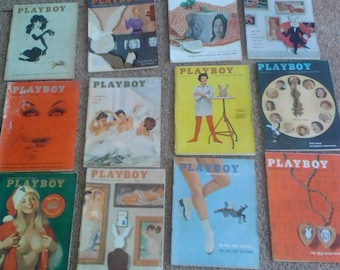 Vintage 1950s Playboy lot