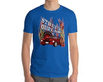 Street racing outlaw for those who love to drag race-Sleeve T-Shirt