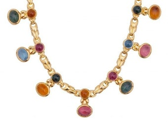 BULGARI  NECKLACE 18K GOLD vintage bvlgari