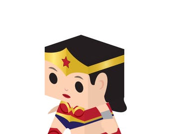CUBBY Wonder Woman