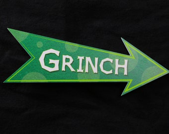 Grinch Christmas Photo Booth Prop - PVC Durable