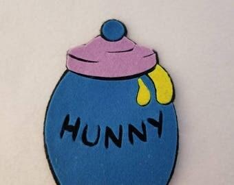 Winnie the poo honey jar catnip toy