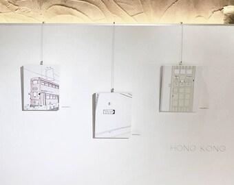 8x10 Canvas Print / Hong Kong Moment Series