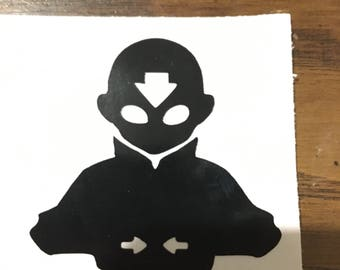 Avatar the last airbender decal