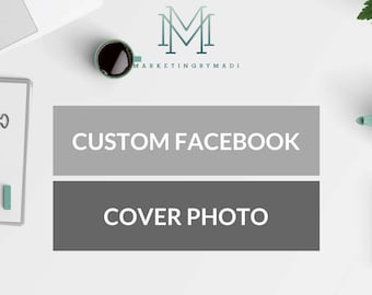 Custom Facebook Cover Photo / Marketing Package / Social Media Design