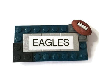 Eagles LEGO Name Tag